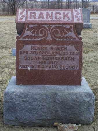 DRESBACH RANCK, SUSAN H. - Ross County, Ohio | SUSAN H. DRESBACH RANCK - Ohio Gravestone Photos