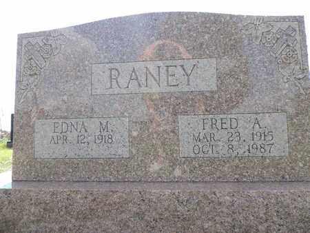 RANEY, EDNA M. - Ross County, Ohio | EDNA M. RANEY - Ohio Gravestone Photos