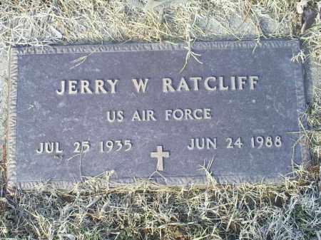 RATCLIFF, JERRY W. - Ross County, Ohio   JERRY W. RATCLIFF - Ohio Gravestone Photos