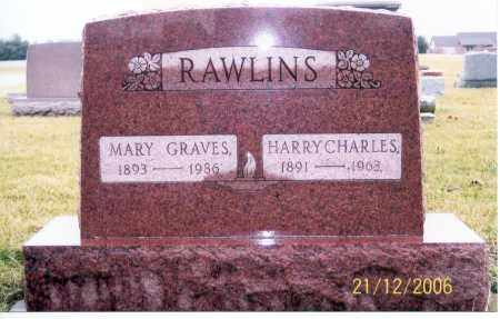 RAWLINS, HARRY CHARLES - Ross County, Ohio | HARRY CHARLES RAWLINS - Ohio Gravestone Photos