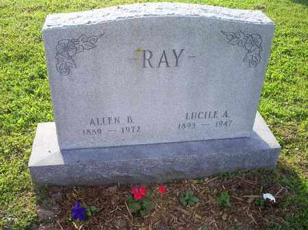 RAY, LUCILLE A. - Ross County, Ohio | LUCILLE A. RAY - Ohio Gravestone Photos