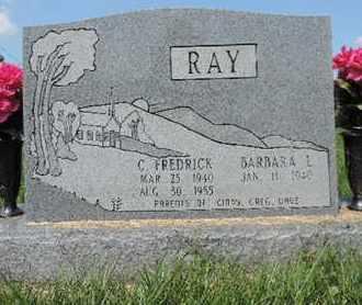 RAY, C. FREDRICK - Ross County, Ohio | C. FREDRICK RAY - Ohio Gravestone Photos