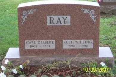 RAY, CARL DELBERT - Ross County, Ohio | CARL DELBERT RAY - Ohio Gravestone Photos