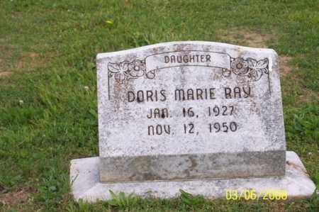 RAY, DORIS MARIE - Ross County, Ohio | DORIS MARIE RAY - Ohio Gravestone Photos