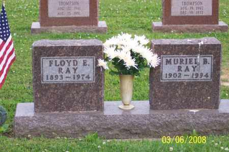 RAY, MURIEL B. - Ross County, Ohio   MURIEL B. RAY - Ohio Gravestone Photos