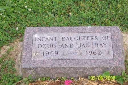 RAY, INFANT DAUGHTERS - Ross County, Ohio   INFANT DAUGHTERS RAY - Ohio Gravestone Photos