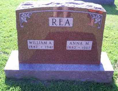 REA, WILLIAM A. - Ross County, Ohio | WILLIAM A. REA - Ohio Gravestone Photos