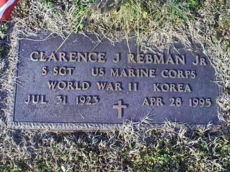REBMAN, CLARENCE J. JR. - Ross County, Ohio   CLARENCE J. JR. REBMAN - Ohio Gravestone Photos