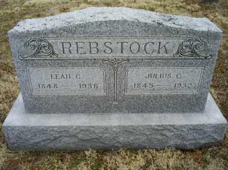 REBSTOCK, LEAH C. - Ross County, Ohio | LEAH C. REBSTOCK - Ohio Gravestone Photos