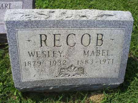 RECOB, MABEL - Ross County, Ohio | MABEL RECOB - Ohio Gravestone Photos