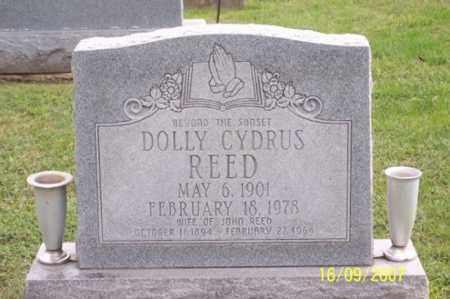 CYDRUS REED, DOLLY - Ross County, Ohio | DOLLY CYDRUS REED - Ohio Gravestone Photos