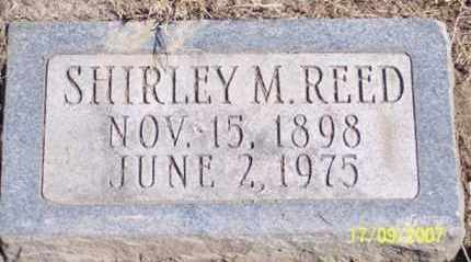 REED, SHIRLEY M. - Ross County, Ohio | SHIRLEY M. REED - Ohio Gravestone Photos