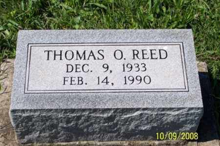 REED, THOMAS O. - Ross County, Ohio | THOMAS O. REED - Ohio Gravestone Photos
