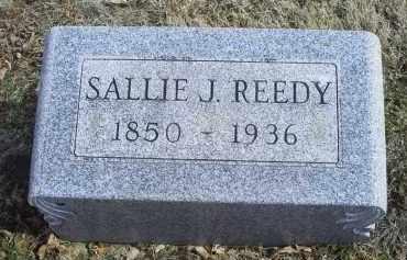REEDY, SALLIE J. - Ross County, Ohio   SALLIE J. REEDY - Ohio Gravestone Photos