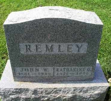 REMLEY, KATHARINE O. - Ross County, Ohio | KATHARINE O. REMLEY - Ohio Gravestone Photos