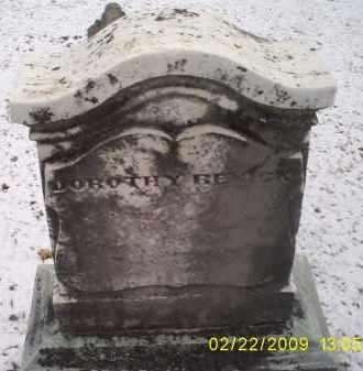 RENICK, DOROTHY - Ross County, Ohio | DOROTHY RENICK - Ohio Gravestone Photos