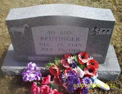 REUTINGER, JO ANN - Ross County, Ohio   JO ANN REUTINGER - Ohio Gravestone Photos