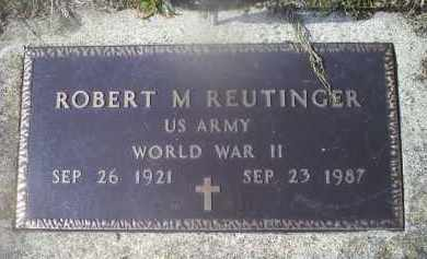 REUTINGER, ROBERT M. - Ross County, Ohio | ROBERT M. REUTINGER - Ohio Gravestone Photos