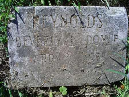 DOYLE REYNOLDS, BEVERLY F. - Ross County, Ohio   BEVERLY F. DOYLE REYNOLDS - Ohio Gravestone Photos