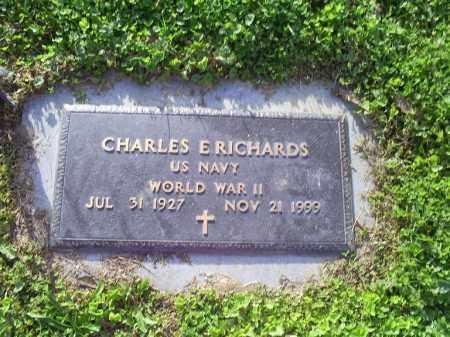 RICHARDS, CHARLES E. - Ross County, Ohio | CHARLES E. RICHARDS - Ohio Gravestone Photos