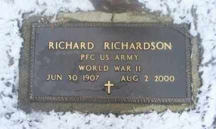 RICHARDSON, RICHARD - Ross County, Ohio | RICHARD RICHARDSON - Ohio Gravestone Photos