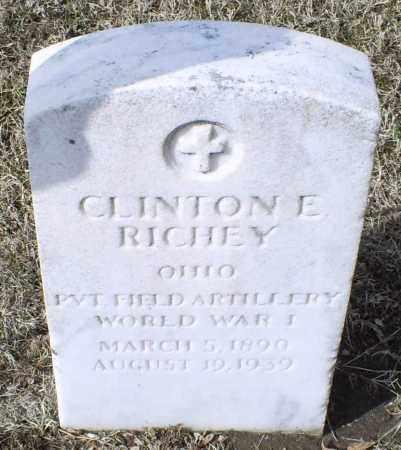 RICHEY, CLINTON E. - Ross County, Ohio | CLINTON E. RICHEY - Ohio Gravestone Photos
