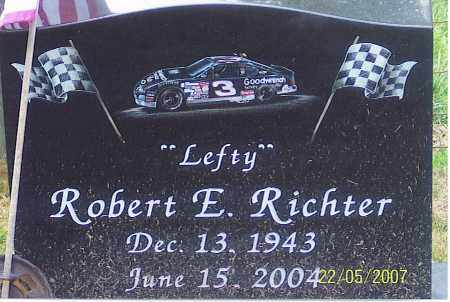 "RICHTER, ROBERT E. ""LEFTY"" - Ross County, Ohio | ROBERT E. ""LEFTY"" RICHTER - Ohio Gravestone Photos"