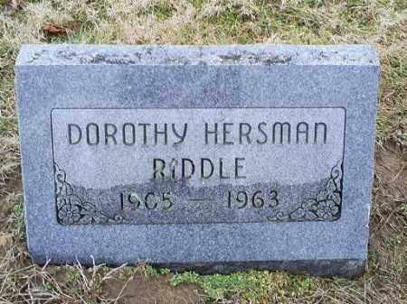 RIDDLE, DOROTHY - Ross County, Ohio | DOROTHY RIDDLE - Ohio Gravestone Photos