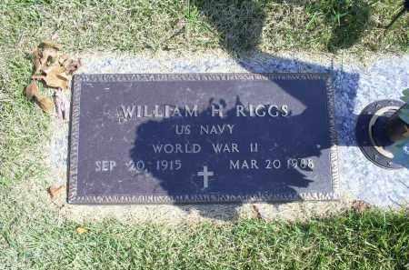 RIGGS, WILLIAM H. - Ross County, Ohio | WILLIAM H. RIGGS - Ohio Gravestone Photos