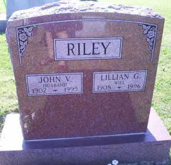 RILEY, JOHN V. - Ross County, Ohio | JOHN V. RILEY - Ohio Gravestone Photos