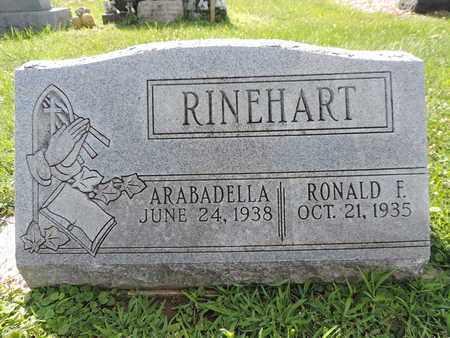RINEHART, RONALD F - Ross County, Ohio | RONALD F RINEHART - Ohio Gravestone Photos