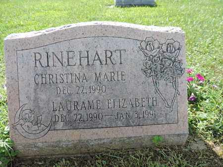 RINEHART, LAURAME ELIZABETH - Ross County, Ohio | LAURAME ELIZABETH RINEHART - Ohio Gravestone Photos