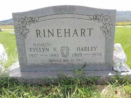 RINEHART, EVELYN V. - Ross County, Ohio | EVELYN V. RINEHART - Ohio Gravestone Photos
