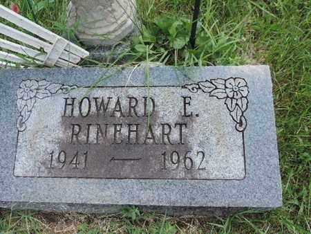 RINEHART, HOWARD E. - Ross County, Ohio | HOWARD E. RINEHART - Ohio Gravestone Photos