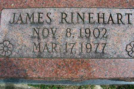 RINEHART, JAMES - Ross County, Ohio | JAMES RINEHART - Ohio Gravestone Photos
