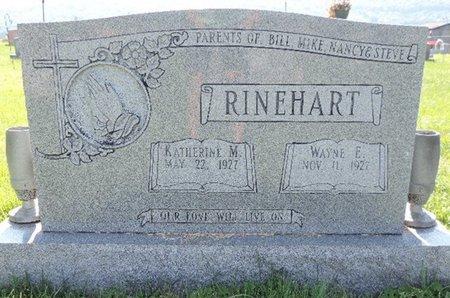 RINEHART, KATHERINE M - Ross County, Ohio | KATHERINE M RINEHART - Ohio Gravestone Photos