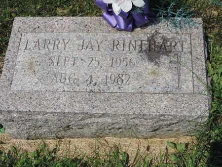 RINEHART, LARRY JAY - Ross County, Ohio | LARRY JAY RINEHART - Ohio Gravestone Photos