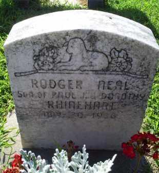 RINEHART, RODGER NEAL - Ross County, Ohio   RODGER NEAL RINEHART - Ohio Gravestone Photos