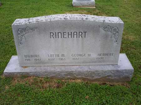 RINEHART, HERBERT - Ross County, Ohio | HERBERT RINEHART - Ohio Gravestone Photos