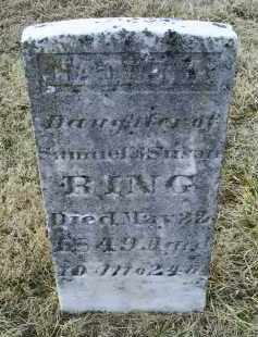 RING, JANE A. - Ross County, Ohio   JANE A. RING - Ohio Gravestone Photos