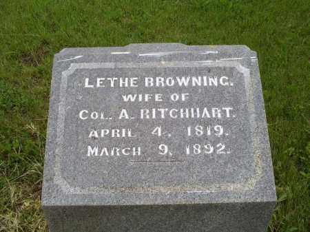 RITCHHART, LETHE - Ross County, Ohio | LETHE RITCHHART - Ohio Gravestone Photos