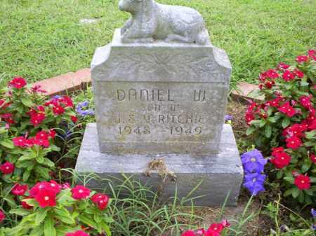 RITCHIE, DANIEL W. - Ross County, Ohio   DANIEL W. RITCHIE - Ohio Gravestone Photos