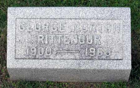 RITTENOUR, GEORGE NORTON - Ross County, Ohio | GEORGE NORTON RITTENOUR - Ohio Gravestone Photos