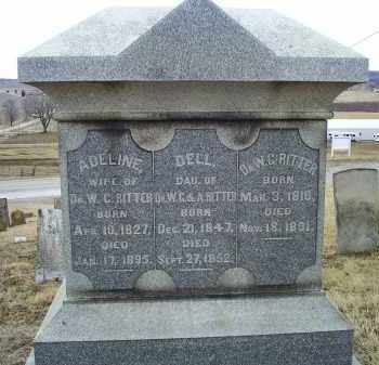 RITTER, DR. W. C. - Ross County, Ohio   DR. W. C. RITTER - Ohio Gravestone Photos
