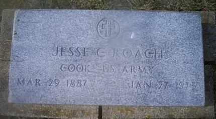 ROACH, JESSE G. - Ross County, Ohio | JESSE G. ROACH - Ohio Gravestone Photos