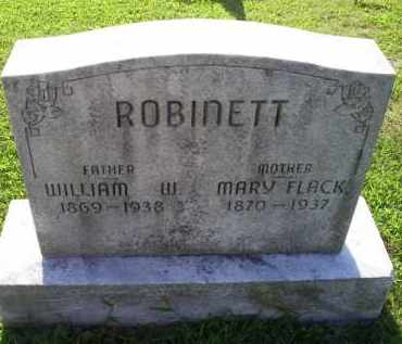 ROBINETT, WILLIAM W. - Ross County, Ohio | WILLIAM W. ROBINETT - Ohio Gravestone Photos