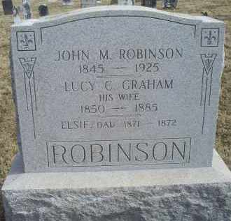 GRAHAM ROBINSON, LUCY C. - Ross County, Ohio | LUCY C. GRAHAM ROBINSON - Ohio Gravestone Photos