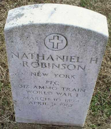 ROBINSON, NATHANIEL H. - Ross County, Ohio | NATHANIEL H. ROBINSON - Ohio Gravestone Photos