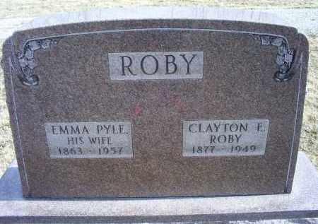 ROBY, CLAYTON E. - Ross County, Ohio | CLAYTON E. ROBY - Ohio Gravestone Photos