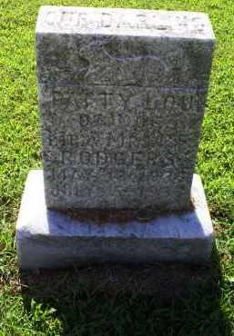 RODGERS, PATTY LOU - Ross County, Ohio | PATTY LOU RODGERS - Ohio Gravestone Photos